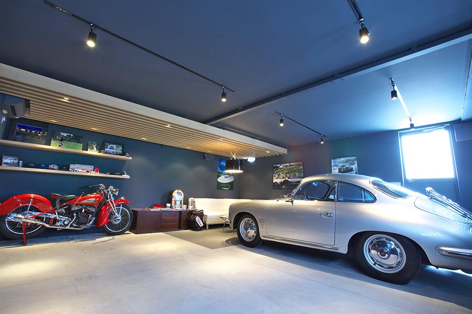 静岡県島田市ガレージハウス|愛車と共に