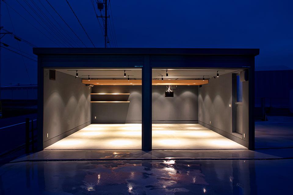 静岡県島田市ガレージハウス|外装