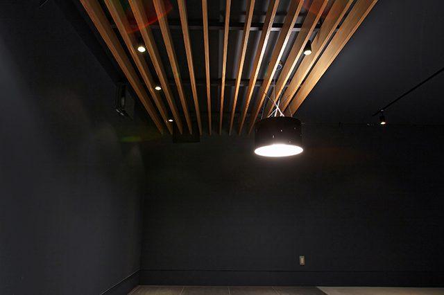 静岡県島田市ガレージハウス|造形照明(メイン)